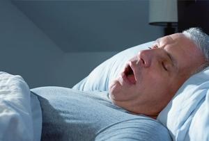 FAT GUY SLEEPING